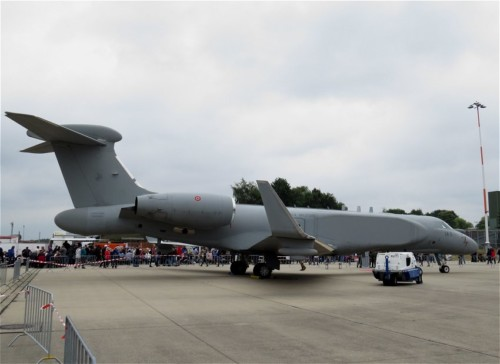 Italy - Gulfstr550CAEW-14-11-01