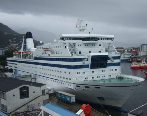 Ferry - DFDS AS - Queen of Scandinavia