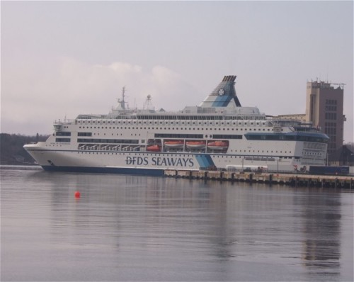 Ferry - DFDS Seaways - Pearl of Scandinavia