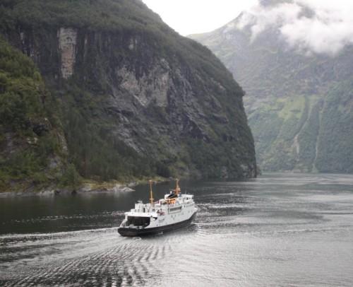Ferry - Fjord1 - Veoey