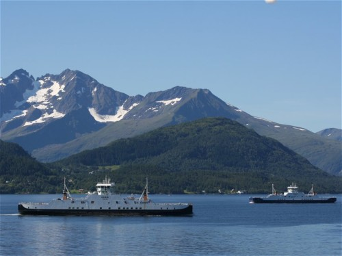Ferry - Fjord1 - Volda