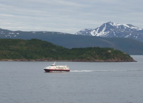 Ferry - Hurtigruten