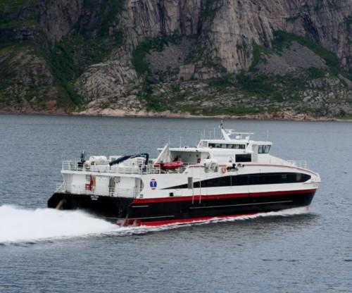 Ferry - Nordlandsekspressen - Salten