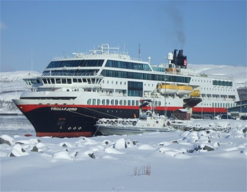 Hurtigruten - MS Trollfjord09