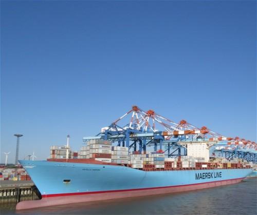 Industry - Estrelle Maersk