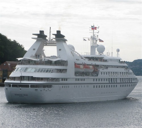 Cruise - Seabourn Cruise Line - Seabourn Pride02