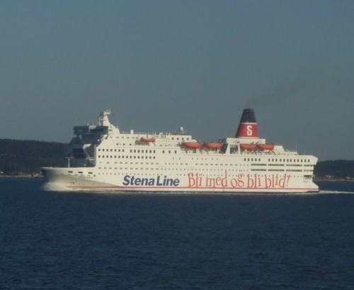 Ferry - Stena Line Scandinavia - Stena Saga
