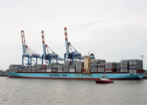 Industry - Chastine Maersk