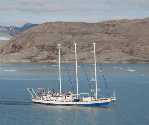 Sailing - Polish Academy of Sciences - RV Oceania